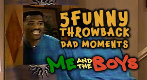 5 Funny Throwback Dad Moments | <b>Me And The Boys</b> - STEVE ...