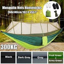 660lbs Double Mosquito Net Outdoor Hammock Tent Camping ...