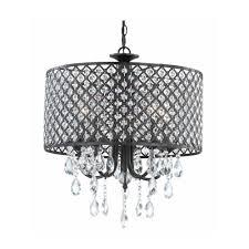ashford classics lighting crystal chandelier pendant light with crystal beaded drum shade 2235 148 chandeliers and pendant lighting