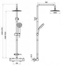 <b>Душевая система BelBagno Nova</b> NOV-VSC-T-IN | Купить в ...