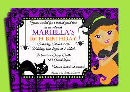 stunning halloween birthday party invitations printable  invitations according inspirational article good halloween birthday party ideas by inspirational article