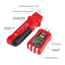 <b>UNI</b>-<b>T</b> UT25A <b>Professional Automatic</b> Circuit Breaker Finder Socket ...