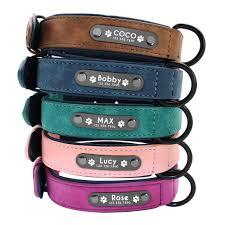 Ошейники для собак, персонализированный <b>кожаный ошейник</b> ...