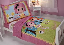 Lalaloopsy Bedroom Decor Amazoncom Lalaloopsy Sew Cute 4 Piece Toddler Set Toddler