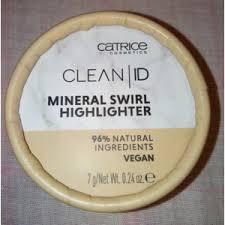 <b>Хайлайтер</b> Catrice <b>Clean</b> ID Mineral Swirl | Отзывы покупателей