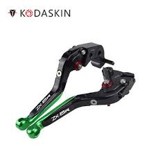 Motorcycle <b>Folding Extendable Brake</b> Clutch Levers for Kawasaki ...