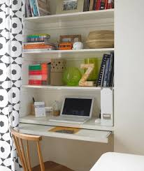 create a desk space in an alcove or extra closet does that exist alcove office