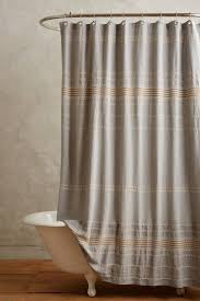 bathroom quot mission linen: scallop striped shower curtain  anthropologiecom