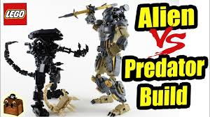 <b>Alien</b> vs <b>Predator LEGO</b> Custom Big Figs MOC - YouTube