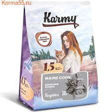 <b>Сухой корм Karmy Maine</b> Coon для взрослых кошек породы мейн ...
