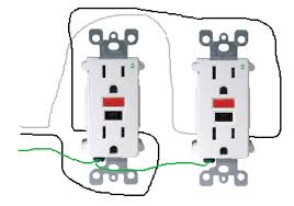 electrical how do i properly wire gfci outlets in parallel wired in series enter image description here