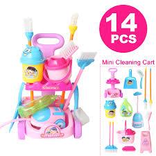 Мини кукла ролевые игры мебель игрушки тележка для уборки ...