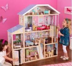 kidkraft dollhouses are barbie sized the kidkraft majestic mansion is a great alternative to the plastic barbie houses barbie dollhouse furniture cheap