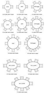 circular dining table full size