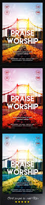 praise and worship church flyer by designbreath graphicriver praise and worship church flyer church flyers