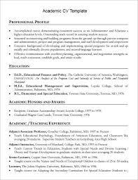 sample academic cv template     download documents in pdf   wordacademic cv template printable