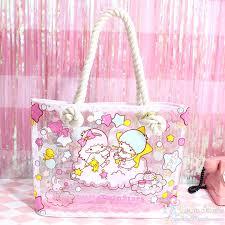 <b>Cartoon</b> Cute Little Twin Stars <b>Handbag Women</b> Girls Gemini ...