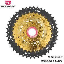 <b>BOLANY MTB Bike</b> Cassete 9 Speed 11 42T <b>Bicycle Freewheel</b> ...