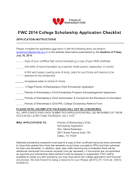 friends of wednesday`s child pal college scholarship referral form
