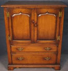 Titchmarsh And Goodwin Period Style <b>Solid</b> Oak <b>TV Cabinet</b> No 4 ...