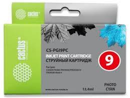 <b>Картридж</b> струйный Cactus CS-<b>PGI9PC</b> фото голубой (13.4мл ...