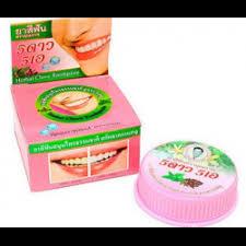 Травяная отбеливающая <b>зубная паста</b> с экстрактом листьев <b>5</b> ...