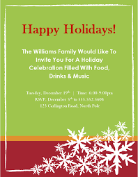 christmas party invitations template christmas party invitations templates microsoft