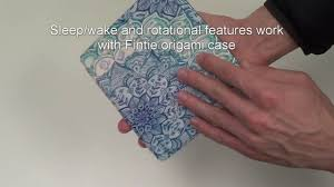 Fintie Kindle Oasis Origami Case - YouTube