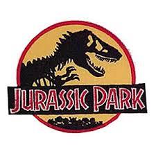 "<b>Jurassic Park</b> Logo 3"" <b>Patch</b> - SciFi Geeks"