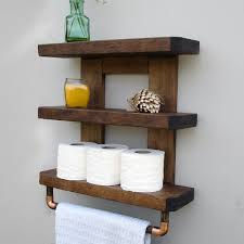 country themed reclaimed wood bathroom storage: rustic bathroom shelves il fullxfull wh rustic bathroom shelves