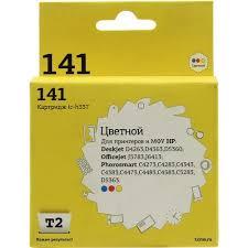 <b>Картридж T2 ic-h337</b> (<b>№141</b>) Color для HP DJ D4263/4363/5360 ...