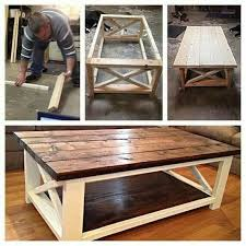 rustic farmhouse living room coffee table http wwwkitchendecorationideacom category end table middot farmhouse c