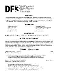 game programmer resume template game programmer resume
