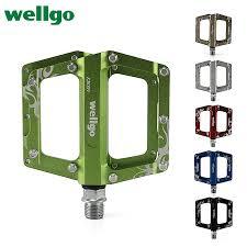 <b>Wellgo</b> Kb009 Ultralight <b>Aluminum</b> Alloy <b>Pedals</b> MTB Mountain ...