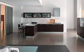 enchanting home interior design ideas for modern brown l shape wooden base cabinets and fascinating floating astounding home interior modern kitchen
