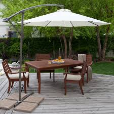 patio umbrella table