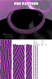 Bead crochet pattern beading tutorial and pattern <b>seed bead</b> ...
