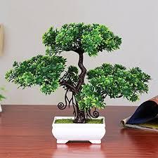 Dssttyle Pin <b>bonsaï</b> artificiel de <b>décoration</b> dintérieur | Artificial potted ...