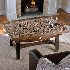 wine barrel furniture collectors display top coffee table with barrel stave legs preparing zoom arched table top wine cellar furniture