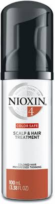 <b>Nioxin Scalp &</b> Hair Leave-In Treatement System <b>4</b> (Color Treated ...