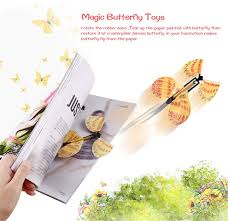 5 pcs <b>Magic Flying Butterfly</b> Little <b>Magic</b> Tricks Funny <b>Surprise</b> Joke ...