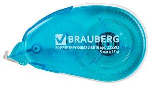 Купить BRAUBERG <b>Корректирующий</b> роллер Maxi синий 5 мм х ...