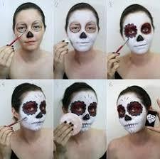 sugar skull makeup tutorial for next