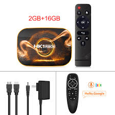 2020 Android 10 Samrt <b>TV Box</b> HK1 Rbox 4GB RAM 64GB ...