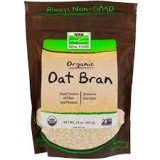 Now Foods <b>Real Food Органические овсяные</b> отруби 14 унций ...