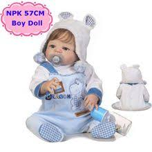 Adorable <b>NPK</b> 57CM Boneca <b>Bebe Reborn</b> Dolls Handmade Full ...