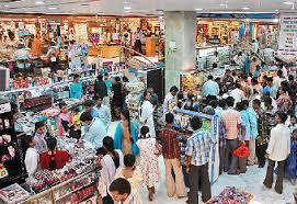 crowded big box store