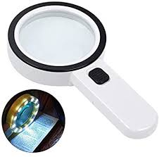 Magnifying Glass with Light, 30X Handheld Large ... - Amazon.com