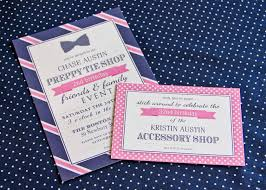 navy pink preppy tie birthday party details paige simple preppy tie party invitations