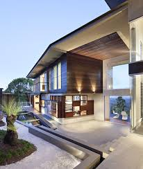 Modern Mountain House Luxury Modern Residence With Breathtaking Views Of Glass House